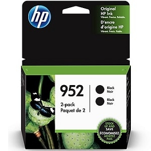 HP 952 Black Original Ink Cartridge 2-Pack