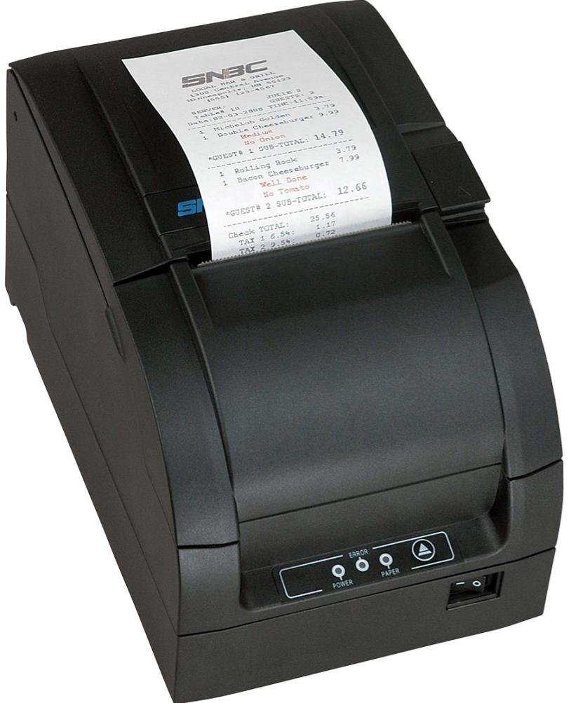 SNBC BTP-M300D Receipt Printer w/. USB & Serial (Black)