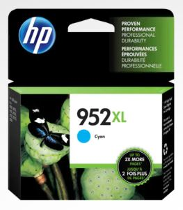 HP 952XL High Yield Cyan Original Ink Cartridge