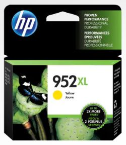HP 952XL High Yield Yellow Original Ink Cartridge