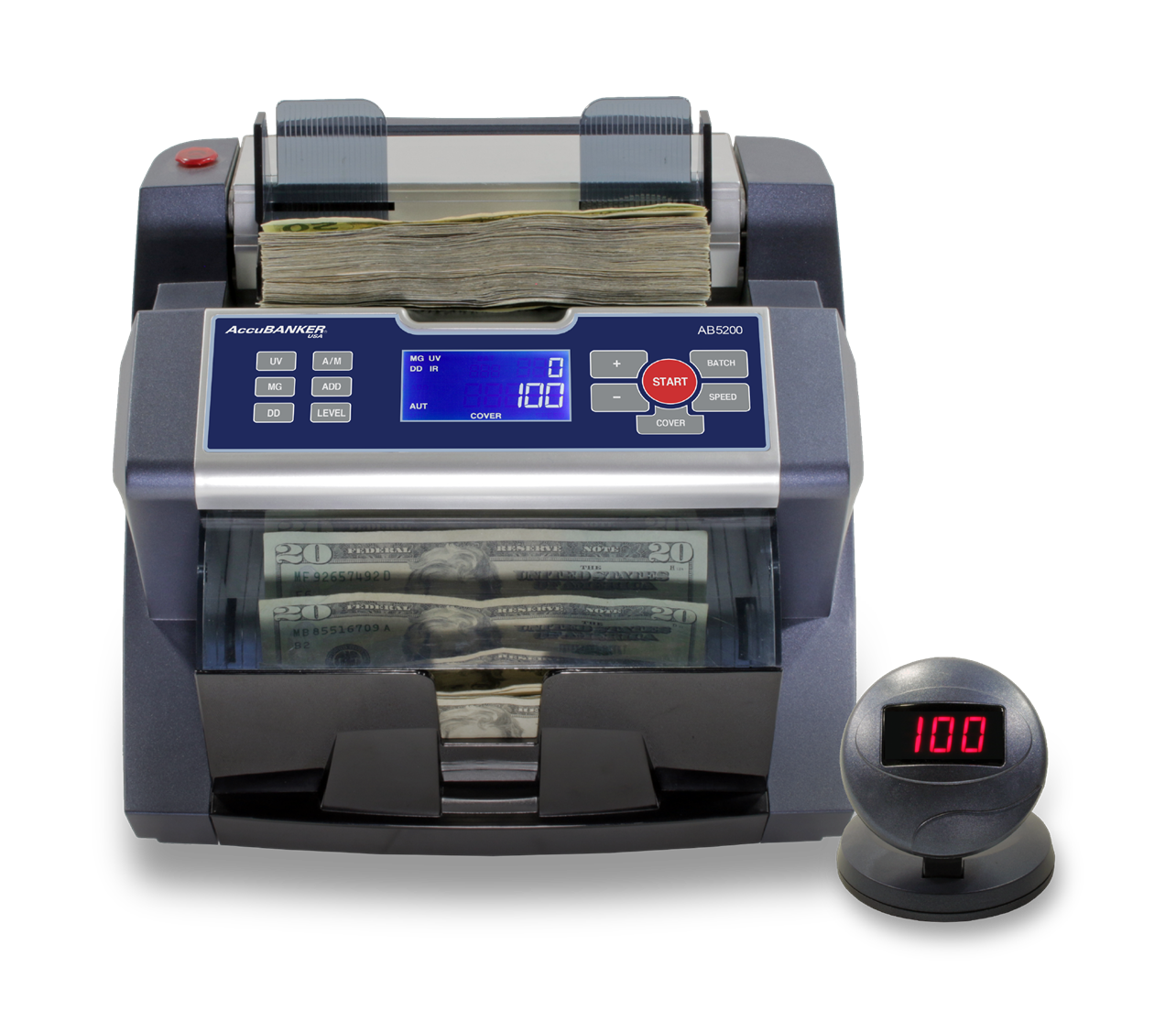 AccuBanker AccuGuard Bill Counter with Dust Cover AB5200