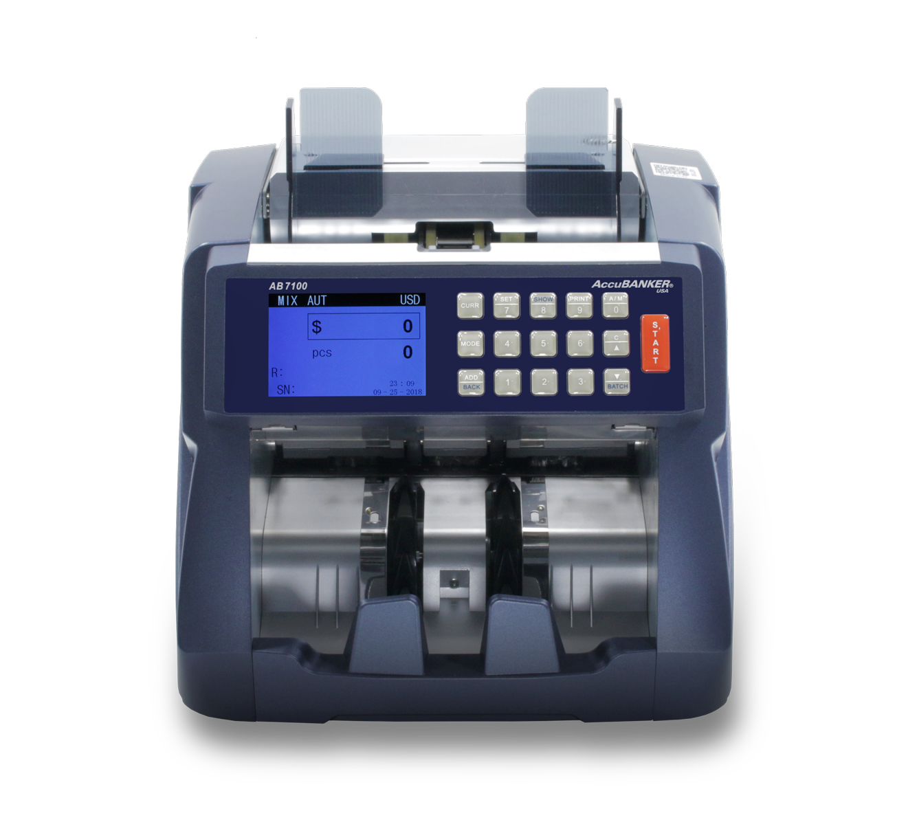 AccuBANKER AB7100 Mixed Bill Value Counter