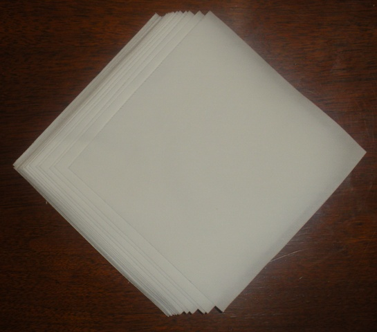 Burroughs Lint Free Cotton Cloths - 150/Pkg.