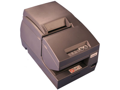 EF675 (Serial w/o cutter) Teller, Receipt & Validation Printer