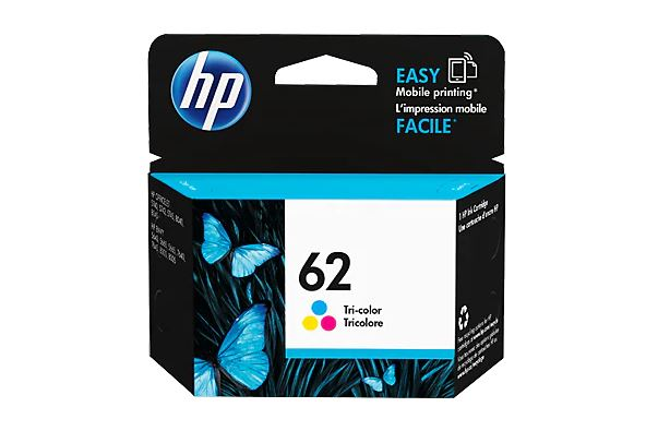 HP 62 Tri-color Ink Cartridge for HP Envy 5660