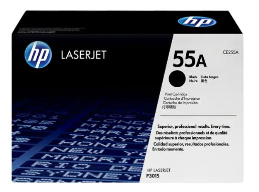 HP 55A Black LaserJet Toner CE255A for HP LaserJet 3015