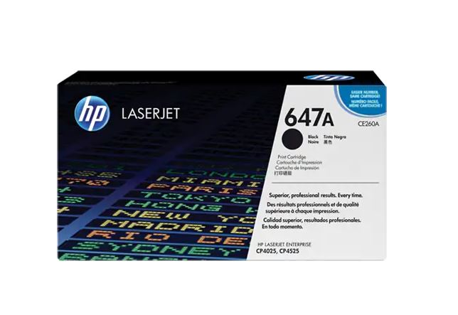 HP 647A BLACK LaserJet Toner for HP LaserJet CP4025