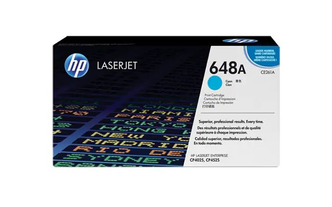 HP 648A CYAN LaserJet Toner for HP LaserJet CP4025