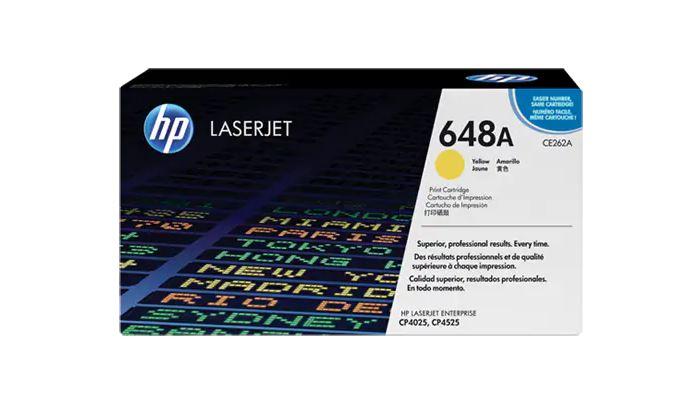 HP 648A YELLOW LaserJet Toner for HP LaserJet CP4025