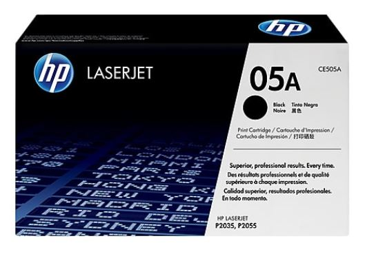HP 05A Black LaserJet Toner for HP LaserJet P2055DN