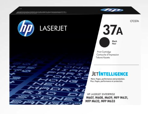 HP 37A Black LaserJet Toner for HP HP37a printer