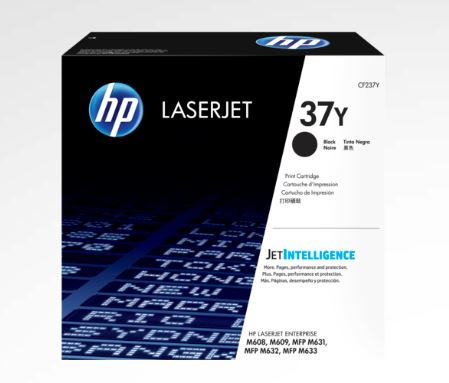 HP 37Y Extra High Yield Black LaserJet Toner for HP M609DN