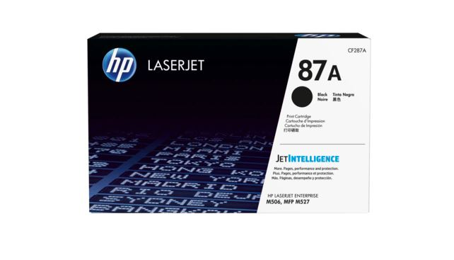 HP 87A Black LaserJet Toner for HP LaserJet Enterprise M506N