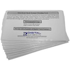 Digital Check TS300/TS400/TS4000 Series Cleaning Cards