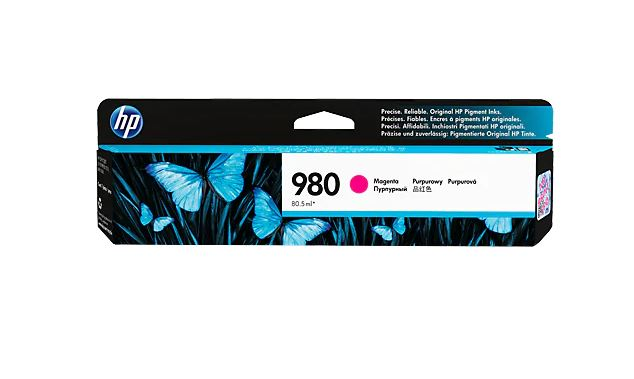 HP 980 MAGENTA Original Ink Cartridge - D8J08A