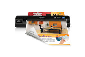Epson WorkForce DS-40 Wireless Portable Document Scanner