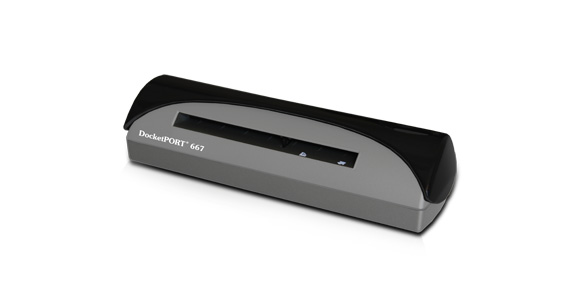 DocketPORT 667 Simplex Card Scanner