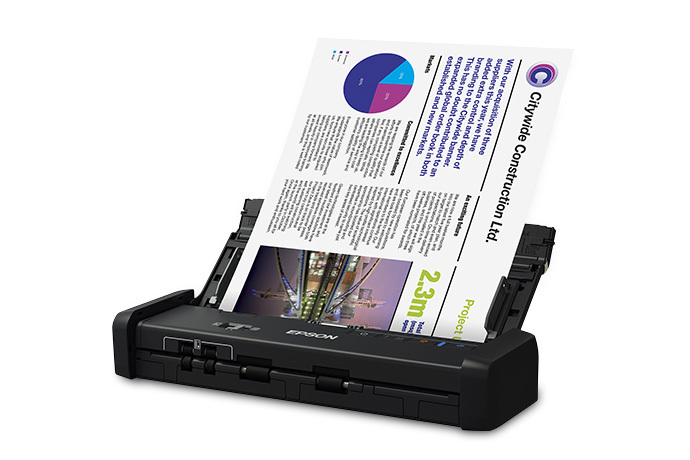 Epson DS-320 Portable Duplex Document Scanner
