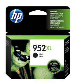 HP 952XL High Yield Black Ink Cartridge for OfficeJet Pro 8710