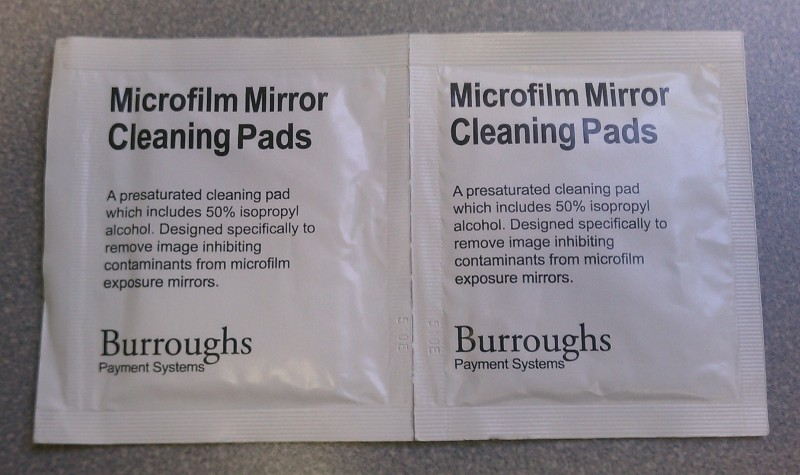 Burroughs Pre-saturated Image Cleaning Pads - 80/Pkg.