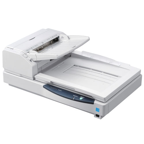 KV-S7075C High-Speed Color Flatbed Document Scanner with ADF