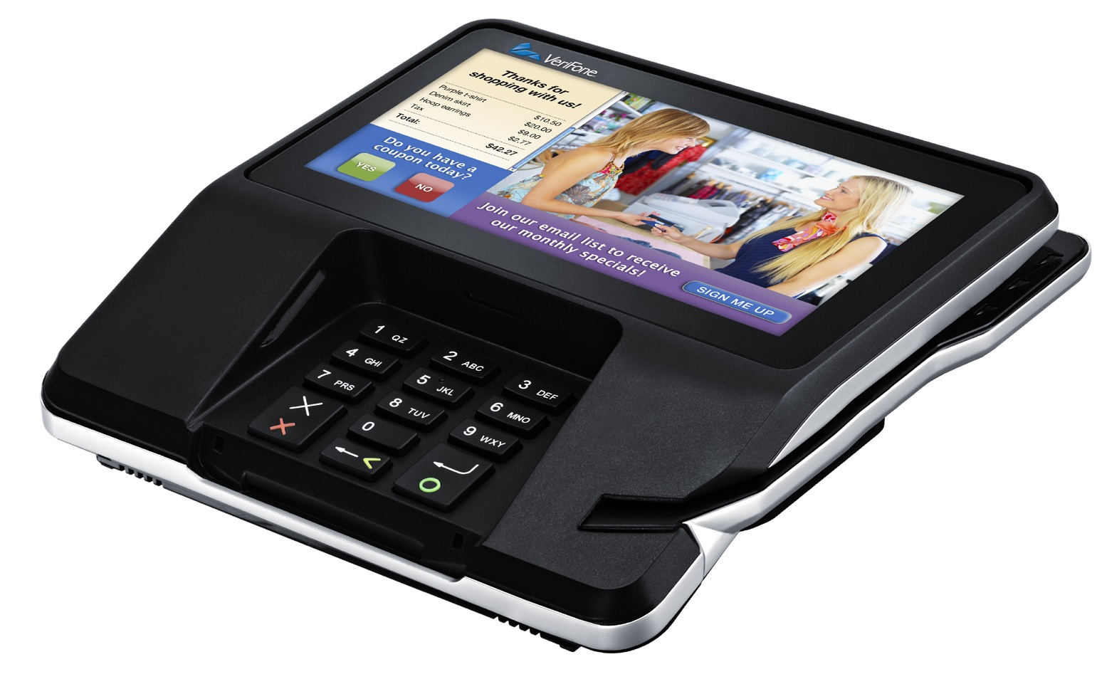 VeriFone MX925, Antenna Sold Seperately