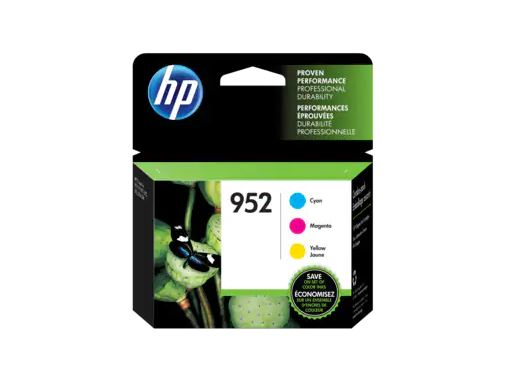HP 952 Cyan/ Magenta/ Yellow Original Ink Cartridges 3-Pack