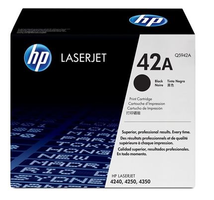 HP 42A Black LaserJet Toner for HP LaserJet 4250