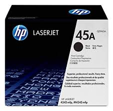 HP 45A Black LaserJet Toner for HP LaserJet 4345