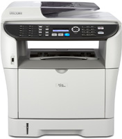 Ricoh Aficio SP 3400SF B&W Multifunction Printer
