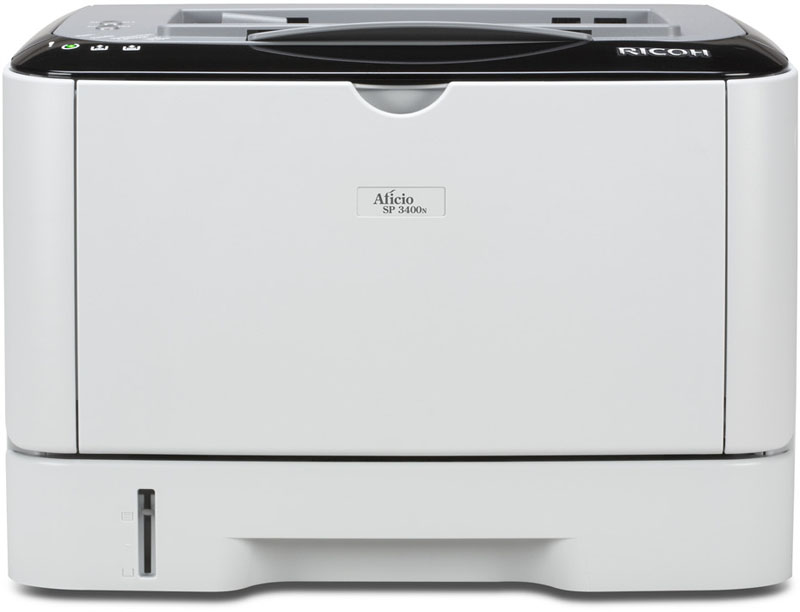 Ricoh Aficio SP 3400N/3410DN B&W Laser Printer