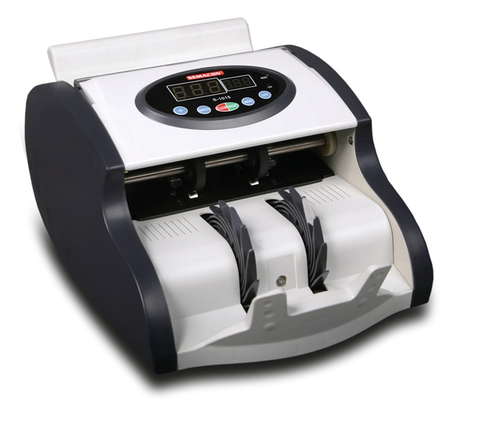 Semacon S-1015 Compact Currency Counter w/ UV Counterfeit Detect