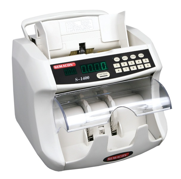 **DISCONTINUED** Semacon S-1400 Bank Grade Currency Counter