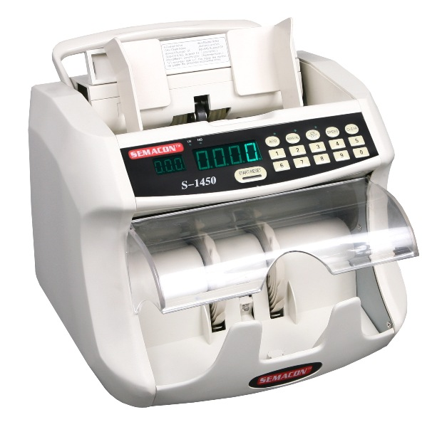 **DISCONTINUED** Semacon S-1450 Currency Counter