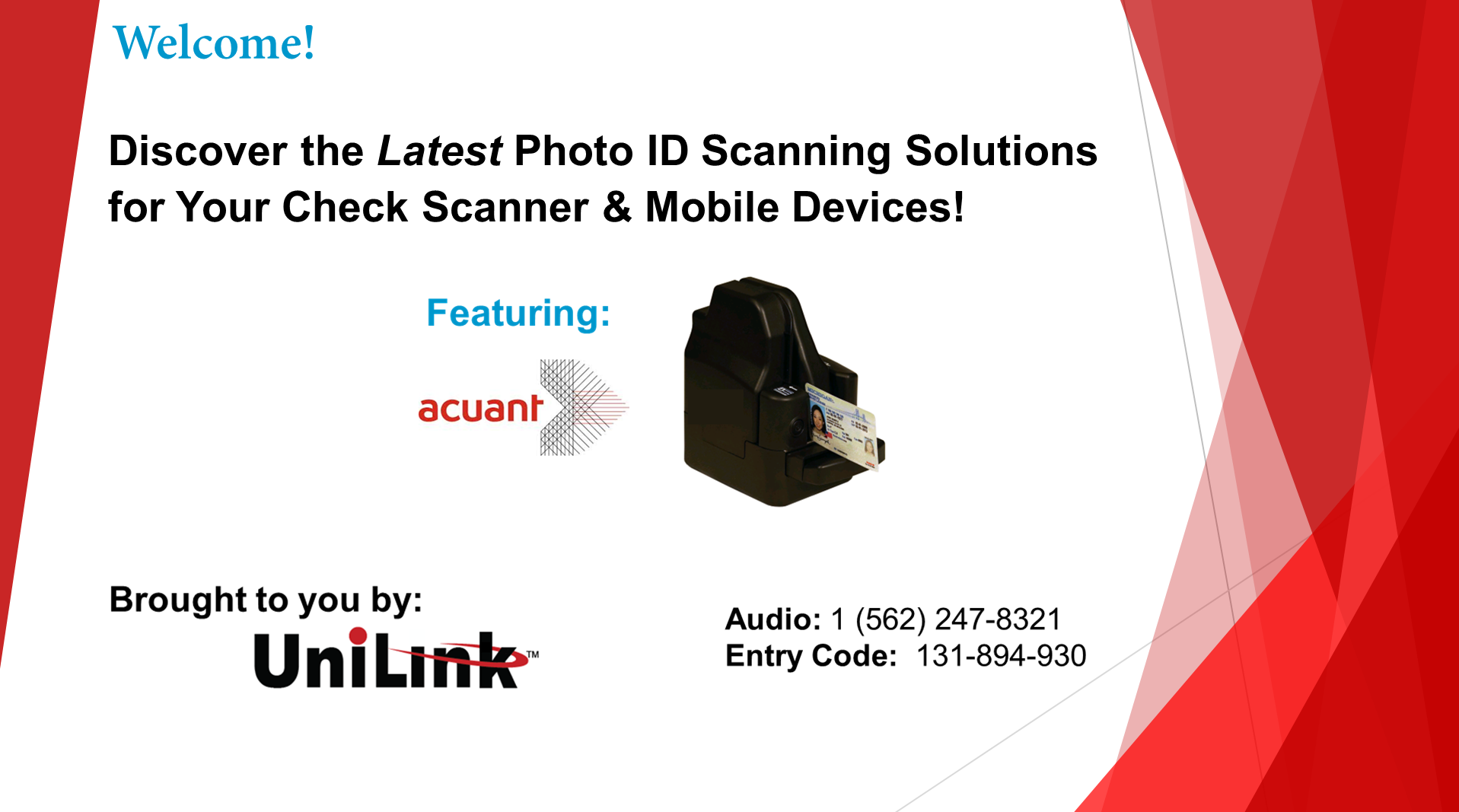 Discover the Latest Photo ID Scanning Solutions for Your Check S