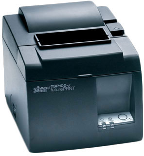Star TSP143L Gray Thermal Receipt Printer