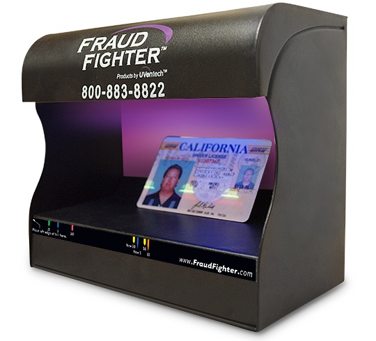 Fraud Fighter by UVeritech UV-16 Authenticator