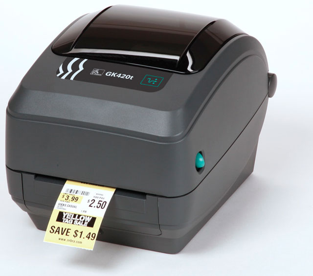 Zebra GK420t Desktop Thermal Transfer Printer