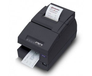 Epson TM-U675 No MICR, No Autocutter - USB - Dark Grey